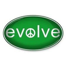 Evolve with Peace - Stickers