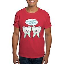 Funny Hygienists Rock T-Shirt