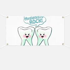 Funny Hygienists Rock Banner