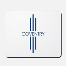 Coventry stripes Mousepad