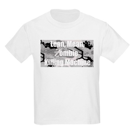 Zombie Killing Machine Kids Light T-Shirt