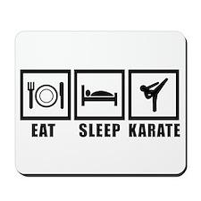 Eat Sleep Karate Mousepad