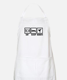 Eat Sleep Karate Apron