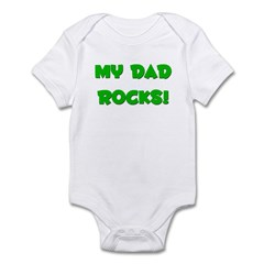 My Dad Rocks! Infant Creeper