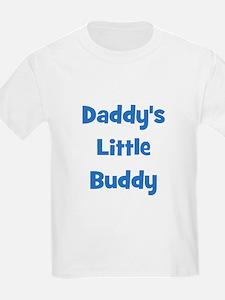 Daddy's Little Buddy Kids T-Shirt