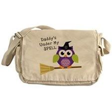 Daddy's Under My Spell Witch Messenger Bag