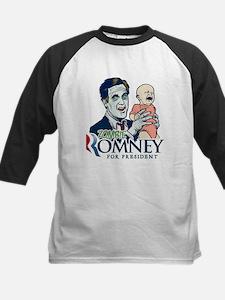 Zombie Romney Kids Baseball Jersey