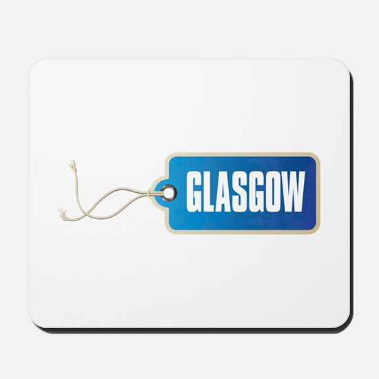 GLASGOW LABELED Mousepad