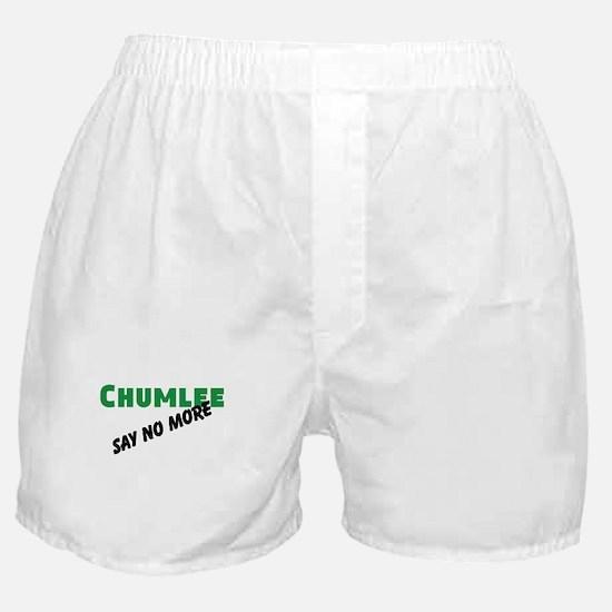 Chumlee Say No More Boxer Shorts