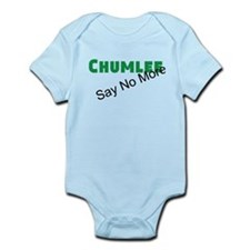 Chumlee Say No More Infant Bodysuit