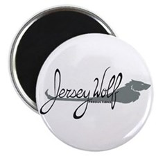 Jersey Wolf Productions Logo Magnet