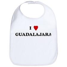 I Love Guadalajara Bib