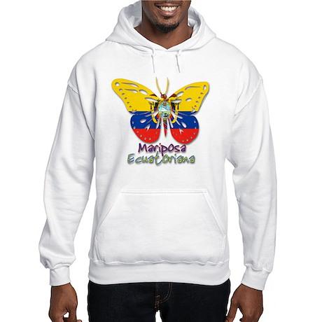 Mariposa Ecuatoniana Hooded Sweatshirt