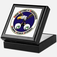 Now Spying on Americans Keepsake Box
