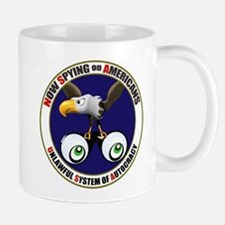 Now Spying on Americans Mug