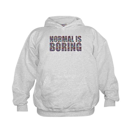 Normal Is Boring Kids Hoodie