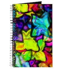 Journal - Neon flowers