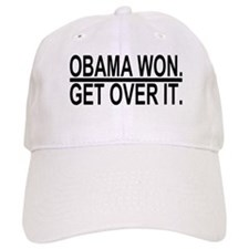 Obama Won Get Over It Baseball Baseball Cap