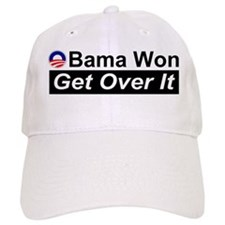Obama Won Get Over It Baseball Cap