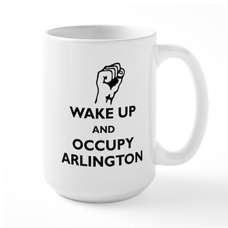 Occupy Arlington Large Mug