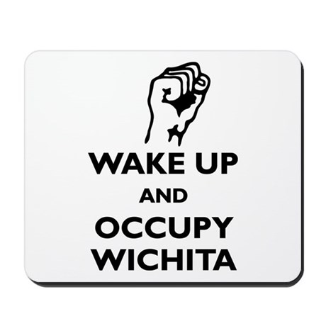 Occupy Wichita Mousepad