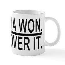 Cute Obama won Mug