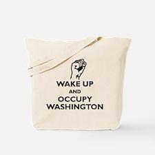 Occupy Washington Tote Bag