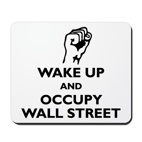 Occupy Wall Street Mousepad