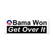 Obama Won Get Over It Car Magnet 10 x 3