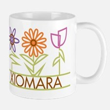 Xiomara with cute flowers Mug