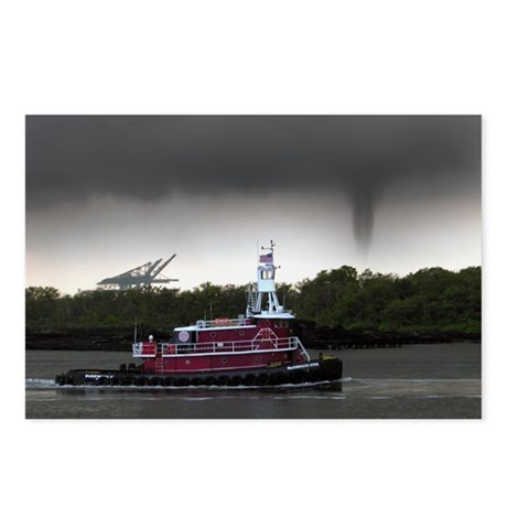 Tug & Funnel Postcards (Package of 8)
