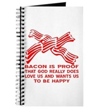Bacon God Does Love Us Journal