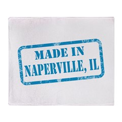 MADE IN NAPERVILLE, IL Throw Blanket