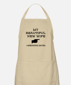 New Wife (Wedding Date) Apron