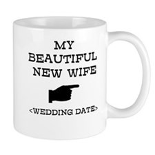 New Wife (Wedding Date) Mug