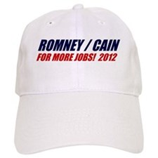 ROMNEY CAIN 2012 BUMPER STICK Baseball Cap