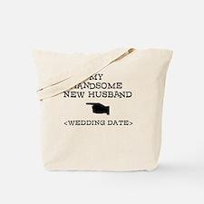 New Husband (Wedding Date) Tote Bag