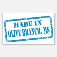 MADE IN OLIVE BRANCH Decal