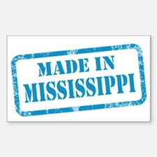 MADE IN MISSISSIPPI Decal