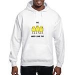 Fat Chicks Hooded Sweatshirt