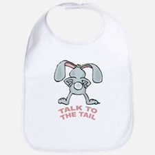 Talk To The Tail Rabbit Bib