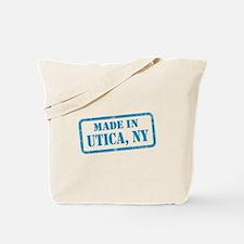 MADE IN UTICA Tote Bag