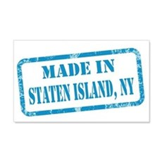 MADE IN STATEN ISLAND 22x14 Wall Peel