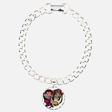 Always In My Heart Collie Charm Bracelet, One Char