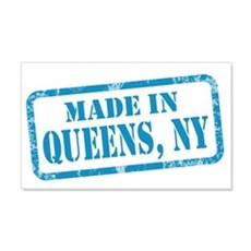 MADE IN QUEENS 22x14 Wall Peel