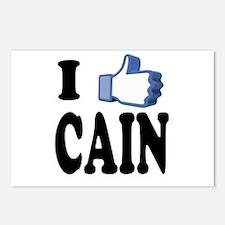 I Like Herman Cain For President Postcards (Packag