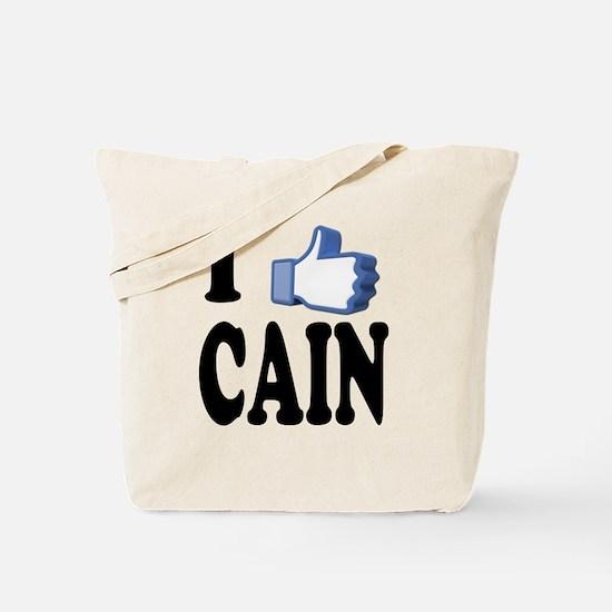 I Like Herman Cain For President Tote Bag