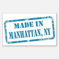 MADE IN MANHATTAN Sticker (Rectangle)