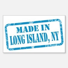 MADE IN LONG ISLAND Decal