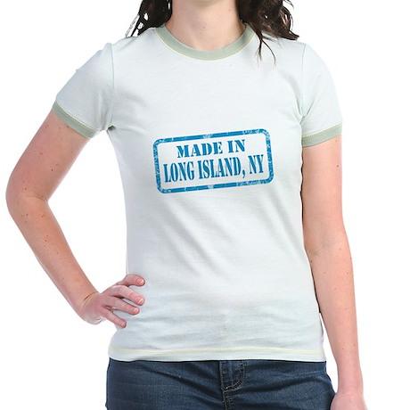 MADE IN LONG ISLAND Jr. Ringer T-Shirt